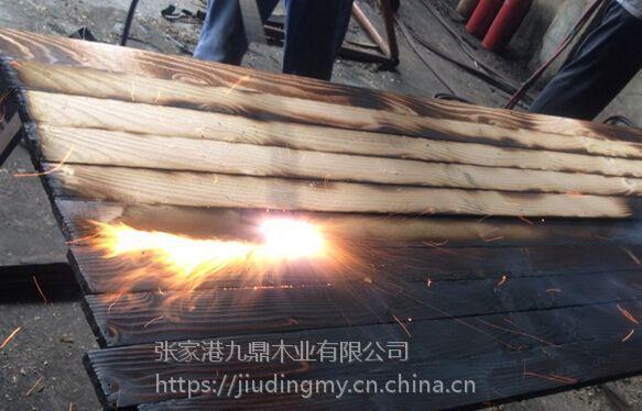 株洲碳化木地板 深度碳化木 表面碳化木 尺寸加工定制 厂家直销