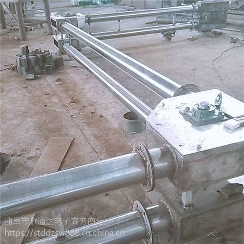 专业链板输送机定做热销 钙粉提升机