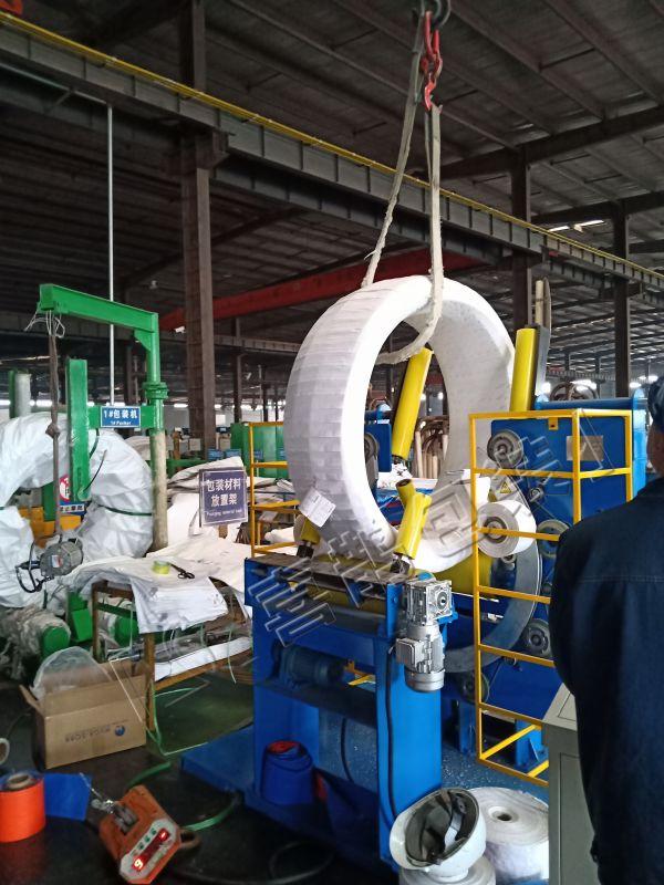 精制线材缠绕包装机、钢丝缠绕包装机、弹簧钢丝包装机