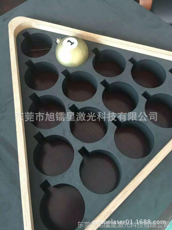 专切圆形海棉 非金属材料工业海绵激光切割机 心形定型棉雕刻机