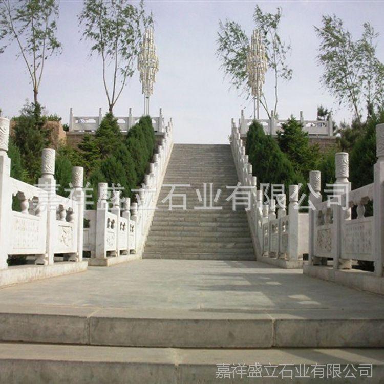 石材厂家供应石栏杆大桥防护栏杆 精雕汉白玉石栏杆 包安装