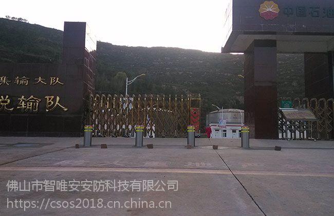 广东广州安装不锈钢挡车埋地柱,全自动要液压升降柱佛山厂家