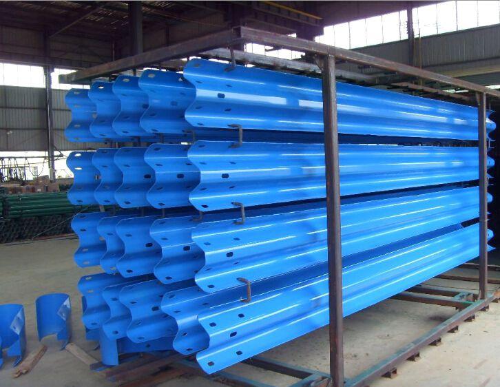 广西波形护栏生产工艺流程