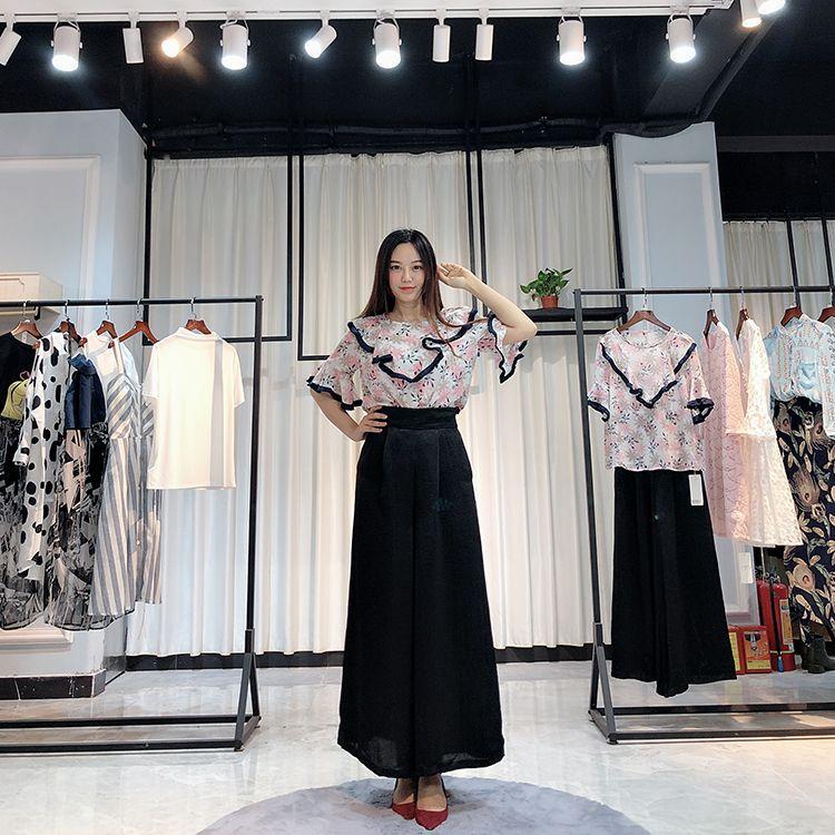 【MISSLI】2019夏女装欧美高端时尚连衣裙专柜同步品牌