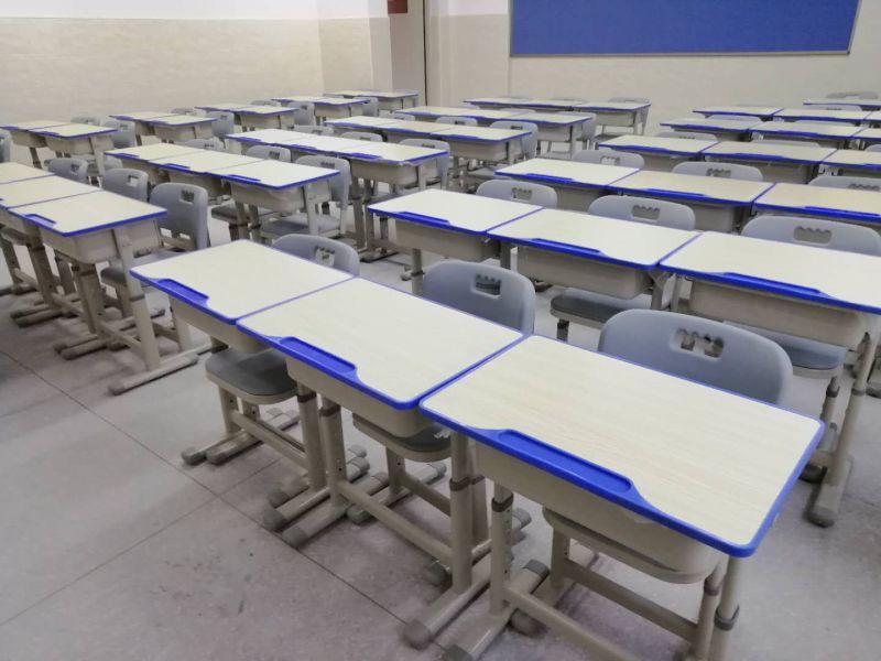 课桌椅高中生*高中生课桌椅*学生单人课桌可升降