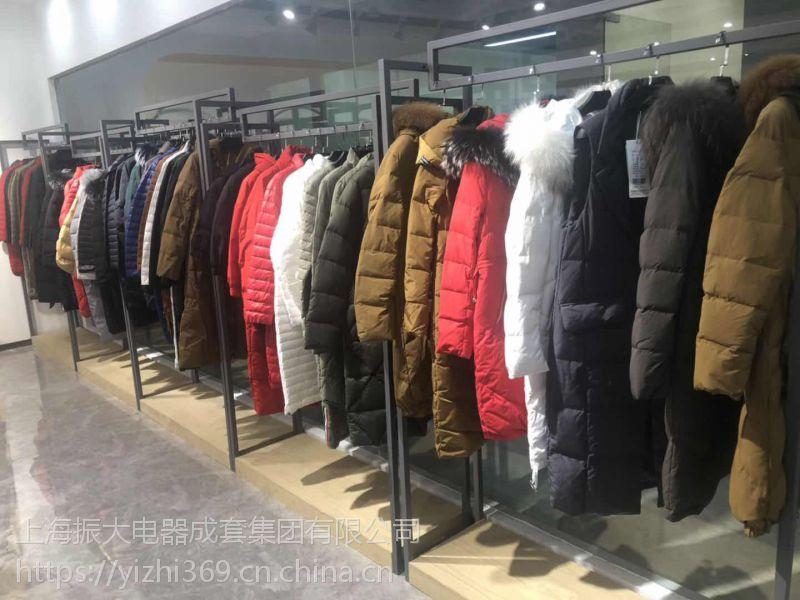 艾博琼斯羽绒服地一大道服装批发市场品牌折扣女装专柜正品剪标广州的品牌折扣店貂绒打底