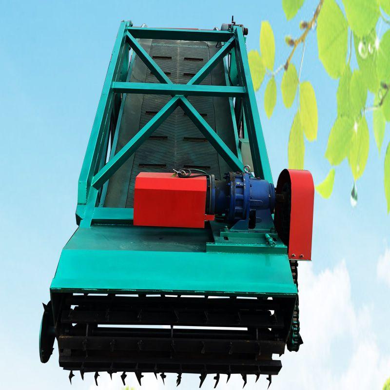 养殖专用大型青贮取料机 牛场取草机 自走式取料车
