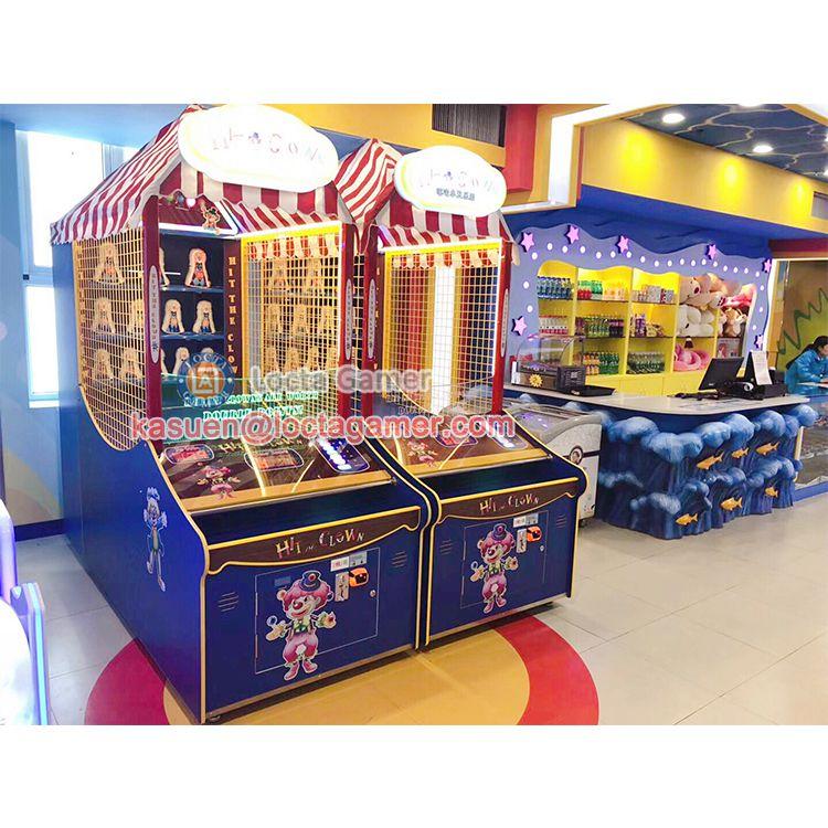 广东中山泰乐游乐儿童室内电玩嘉年华拍打小丑嘻哈小丑英伦风