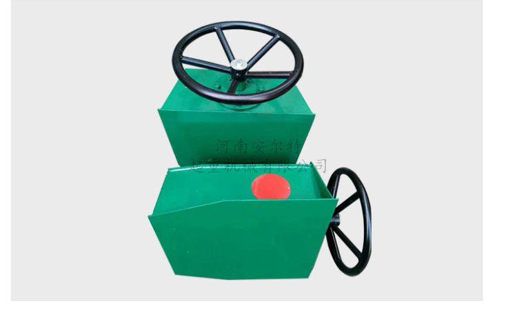 行车轨道500高夹轨器 方向盘式手动简易夹轨器