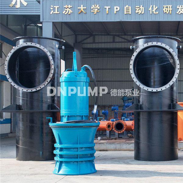 潜水轴流泵系列之防汛强排泵