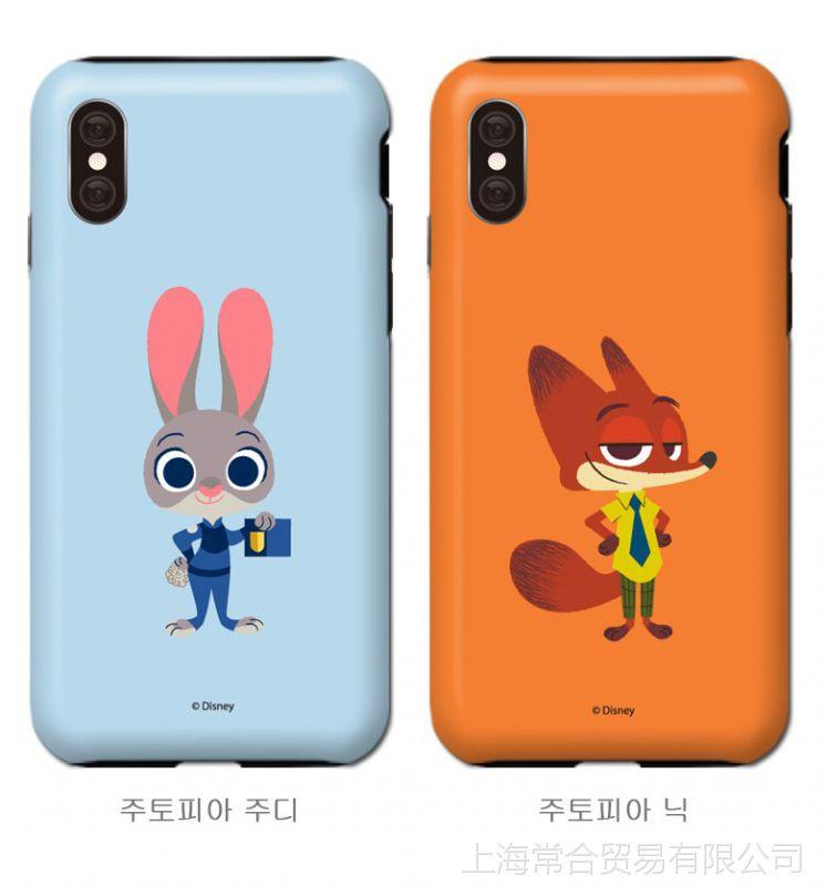 韩国猴子a猴子兔子手机壳iphoneX苹果动物8双脸上起了正品图片