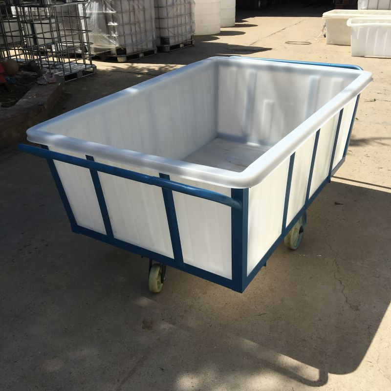 300套K1300L纺织印染方箱带推车发货了