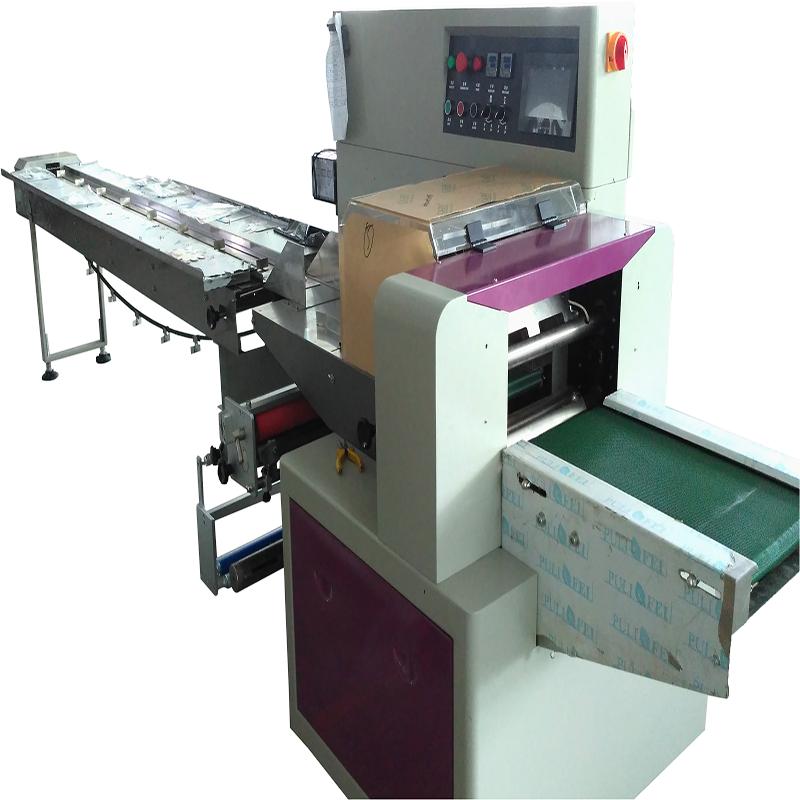 产地货源 五金配件伺服枕式包装设备 齿轮包装机 可自动贴标