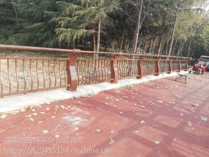 桥梁栏杆厂家景观河道防护栏道理防撞隔离栏不锈钢复合管304市政人行道栏杆