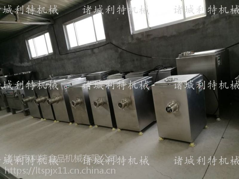 猪皮绞肉机 冻肉绞肉机 肉类加工设备多少钱
