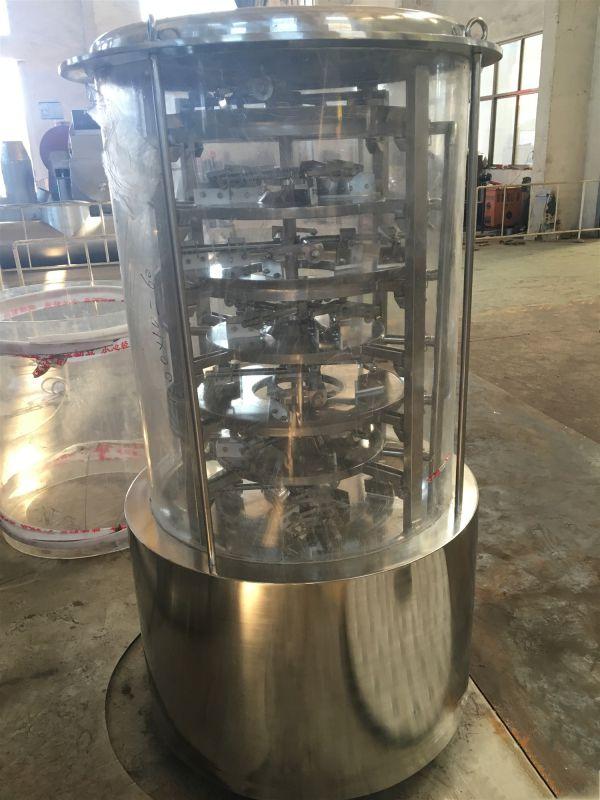 盘式干燥机 运作 物料走向 概况