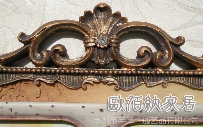 5吋组合双框玫瑰田园树脂欧式相框相架洛可可复古风格摆台批发