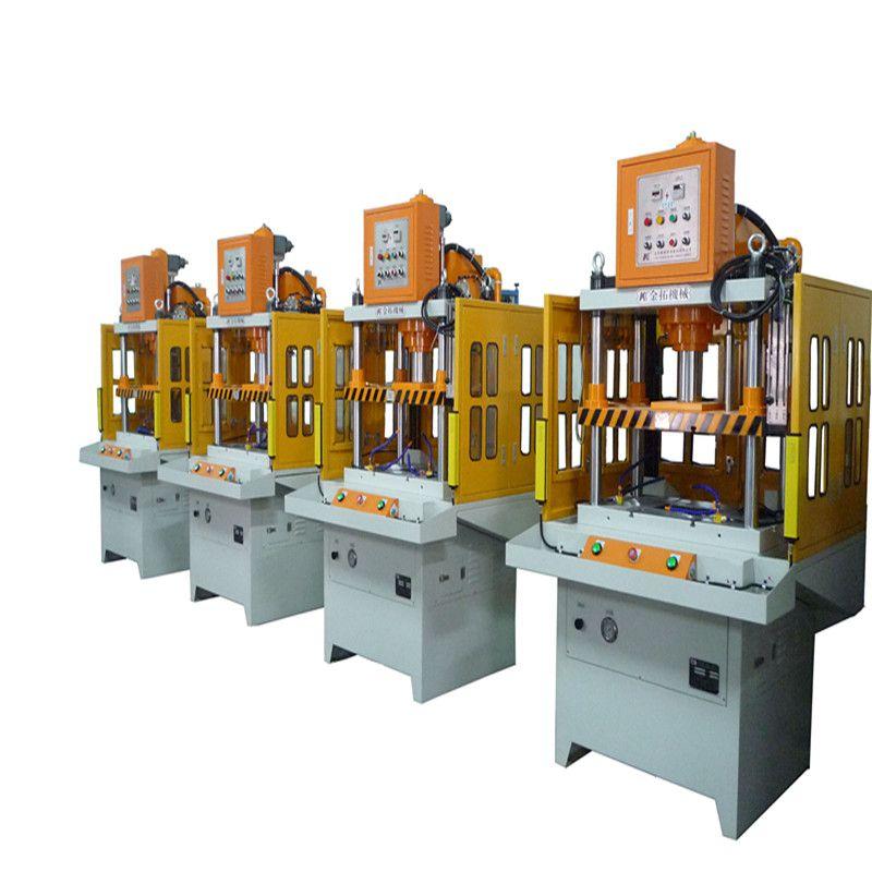 四柱油压机工作原理 单臂液压机的用途