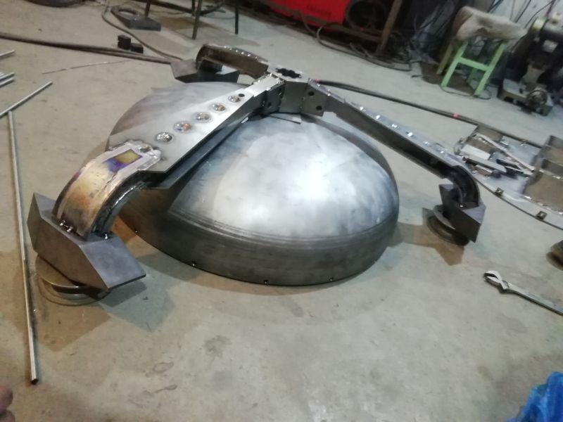 钛合金机器人 钛合金格斗士 钛合金加工