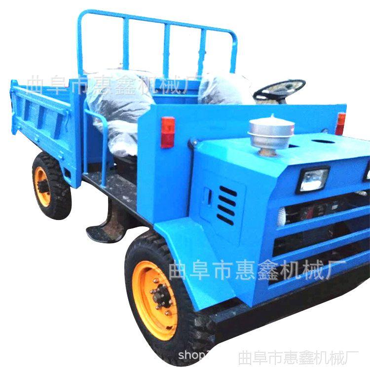 四驱毛竹专用运输车 操作灵活的运输拖拉机 绿化栽培运输用拖拉机