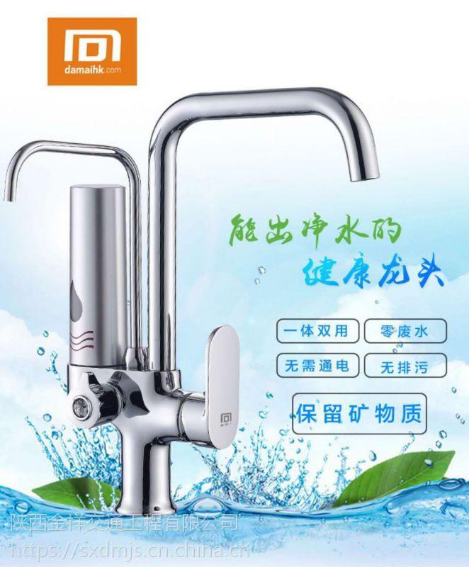 大迈 DM-T6直饮净化水龙头精度0.01微米 双出水净水龙头 厨房直饮净水器 前置过滤器
