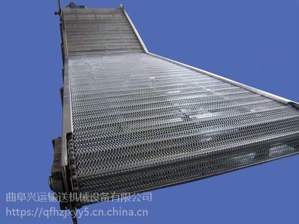 海安爬坡网带输送机 耐用水平直线输送