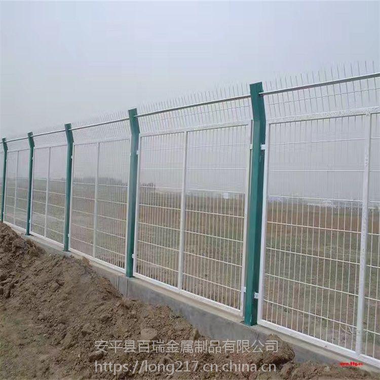 生产厂家供应 收费站防护网 服务区安全护栏网