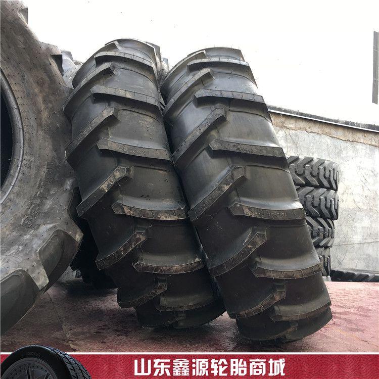 前进 16.9-30 大马力拖拉机轮胎人字花纹旱田轮胎