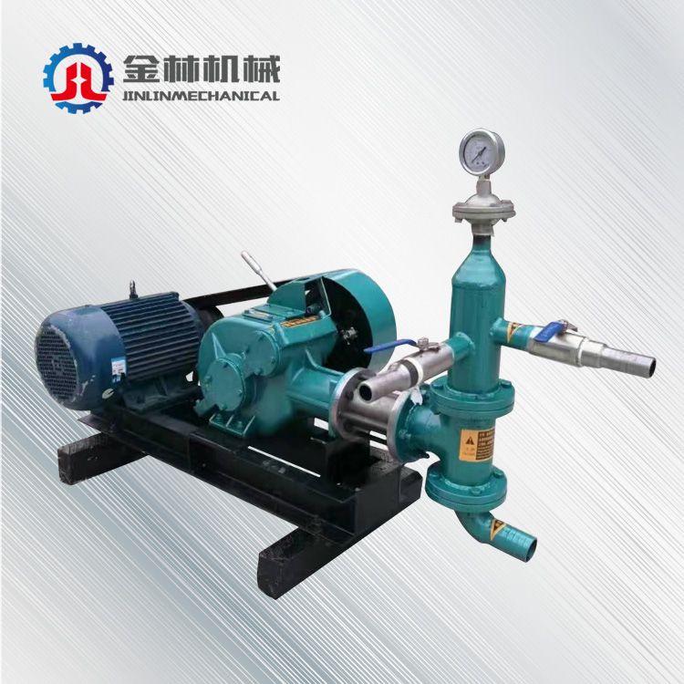供应水泥砂浆两用活塞注浆泵 直销 BW50/3抗浮锚杆注浆机
