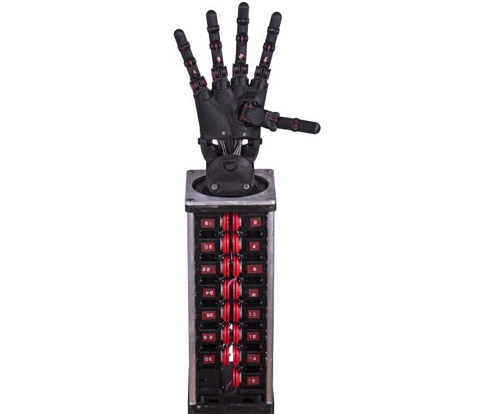 仿真机器人灵巧手5指