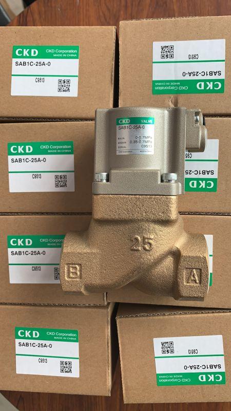 原装CKD气控阀SAB1C-25A-0 SAB1C-20A