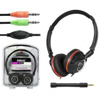 供应2013年新款耳机科麦KM-9231可折叠头戴支架可插拔式麦克风