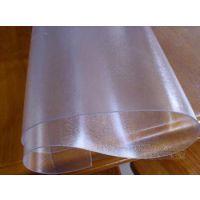进口PVC软玻璃桌布 透明水晶