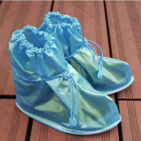 蓝色 儿童鞋防水防滑鞋套 雨天出行用具 居家日用百货批发