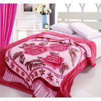 婚庆床品 秋冬保暖超柔加厚毯子/如意系列拉舍尔毛毯7斤 12款