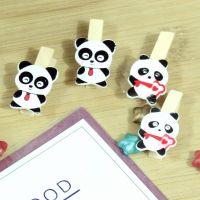 DIY 装饰照片小夹子  国宝熊猫造型照片夹子 装饰夹