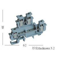 厂家直销MBKKB-2.5双层接线端子