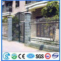 金属围栏网,铸铁围墙网,澳州别墅区护栏网,庭院铁艺栅栏
