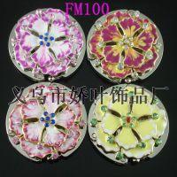 专业生产彩绘立体花 迷你型挂包钩FM100