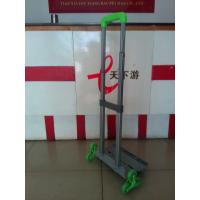 厂家生产销售书包拉杆爬楼梯书包拉杆固定底板带插脚管书包拉杆