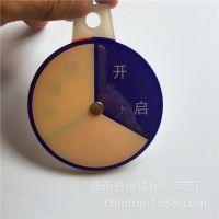 远达工艺厂 专业定做塑料工艺品 工艺摆件 家用小转盘 游戏转盘