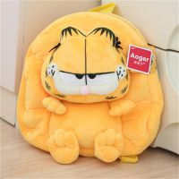 澳捷尔正版授权 2014新品毛绒 加菲猫背包 卡通幼儿园双肩包
