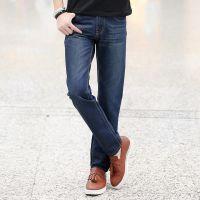 2014新款男装牛仔裤 男式牛仔裤 男式直筒韩版潮牌牛仔裤一件代发