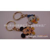 供应米奇动漫钥匙扣,迪士尼动漫钥匙扣,创意情侣钥匙扣
