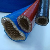供应 硅胶玻璃纤维防火套管