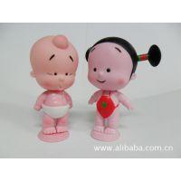 pvc公仔玩具,卡通动漫公仔,搪胶礼品玩具, 小破孩两小无猜玩具