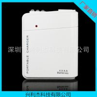 供应苹果iphone手机应急充电器 4节5号干电池充电宝 USB充电器