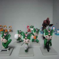 厂家专业塑胶搪胶,公仔,玩具喷涂喷油加工,中国系列价格优惠