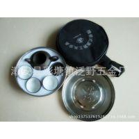 便携式旅游茶具套装 不锈钢茶盘工夫茶具 紫砂壶杯套装