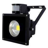 30W红外感应式LED泛光灯 LED室内感应投光灯